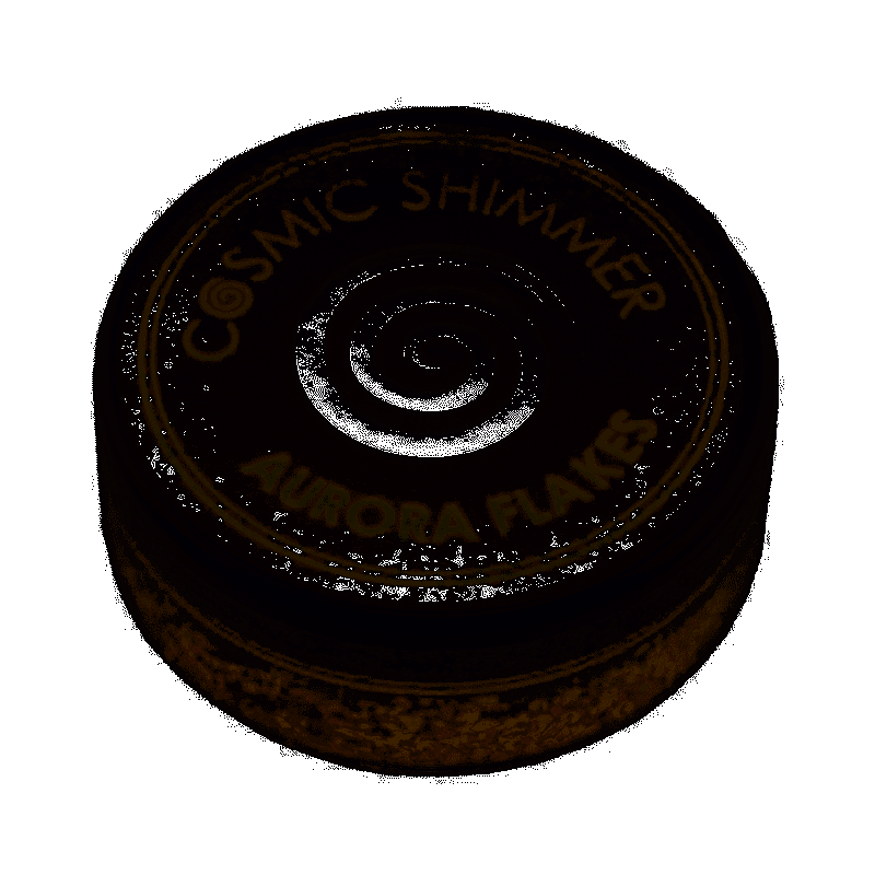 GOLDEN ROSE COSMIC SHIMMER AURORA FLAKES
