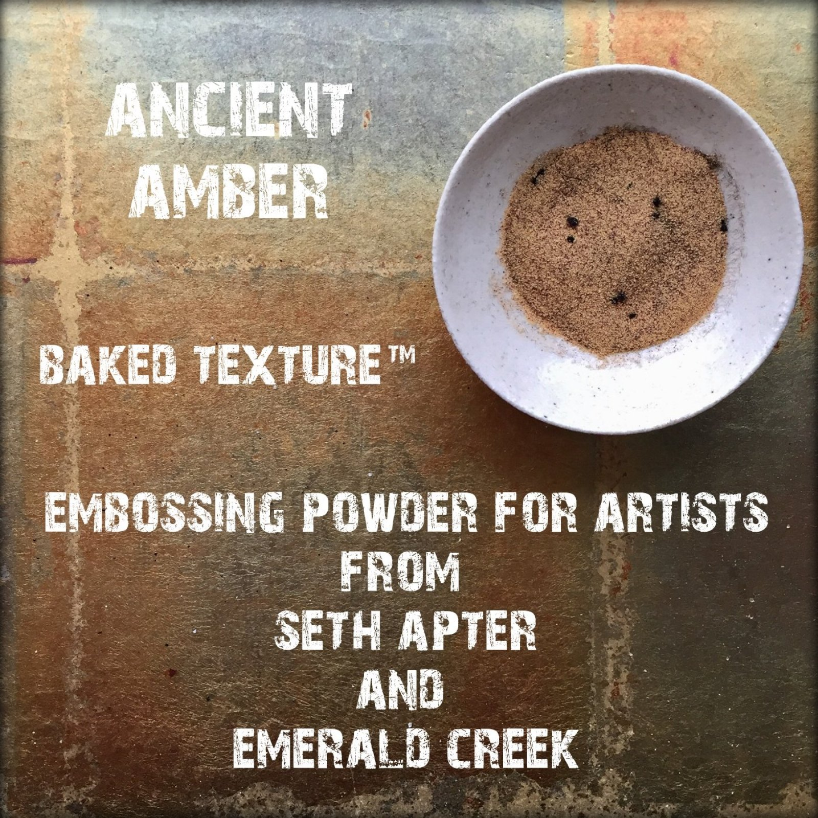 ANCIENT AMBER 17G - BAKED TEXTURE EMBOSSING POWDER