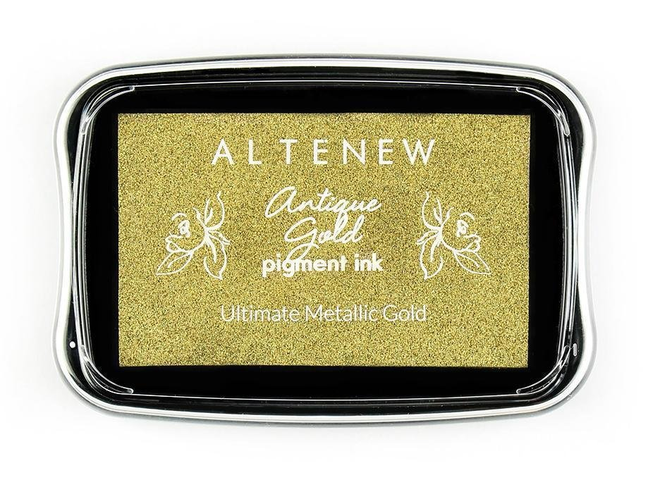 ANTIQUE GOLD PIGMENT INK PAD