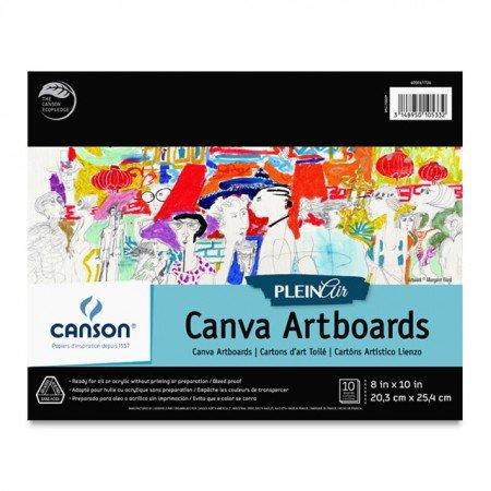 CANVA 8X10 - CANSON PLEIN AIR ARTBOARDS