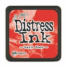 Mini Distress Pad - Barn Door