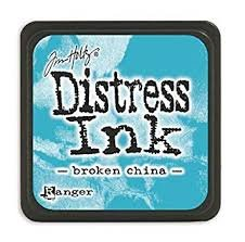 Mini Distress Pad - Broken China
