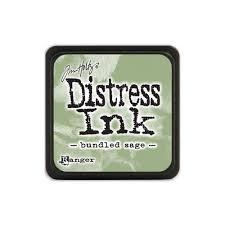 Mini Distress Pad - Bundled Sage
