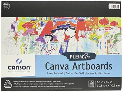 CANVA 12X16 - CANSON PLEIN AIR ARTBOARDS