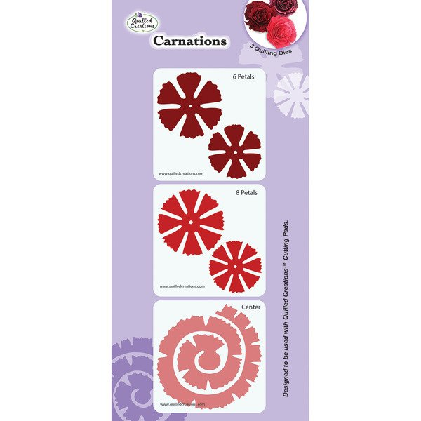 CARNATIONS QUILLING DIES