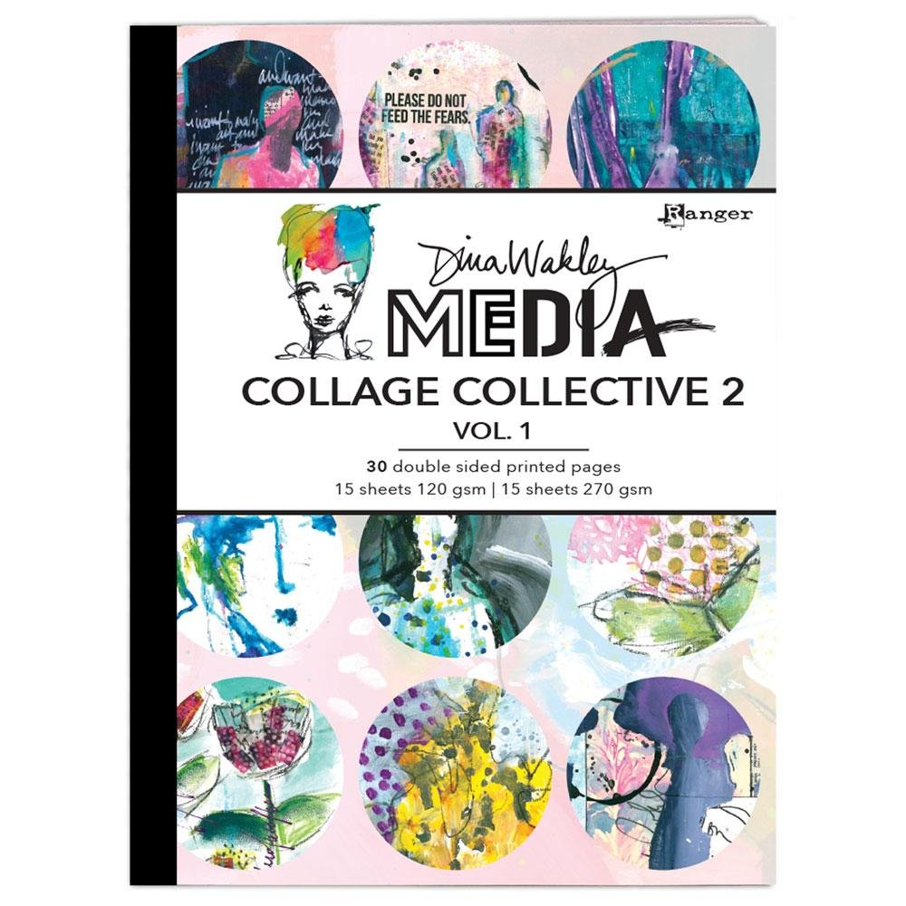 DINA WAKLEY COLLAGE COLLECTIVE 2 - VOL 1