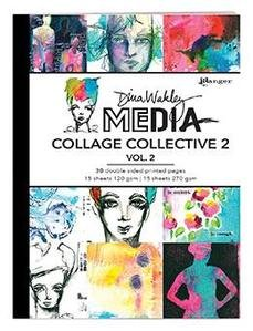 DINA WAKLEY COLLAGE COLLECTIVE 2 - VOL 2