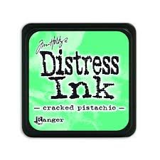 Mini Distress Pad - Cracked Pistachio