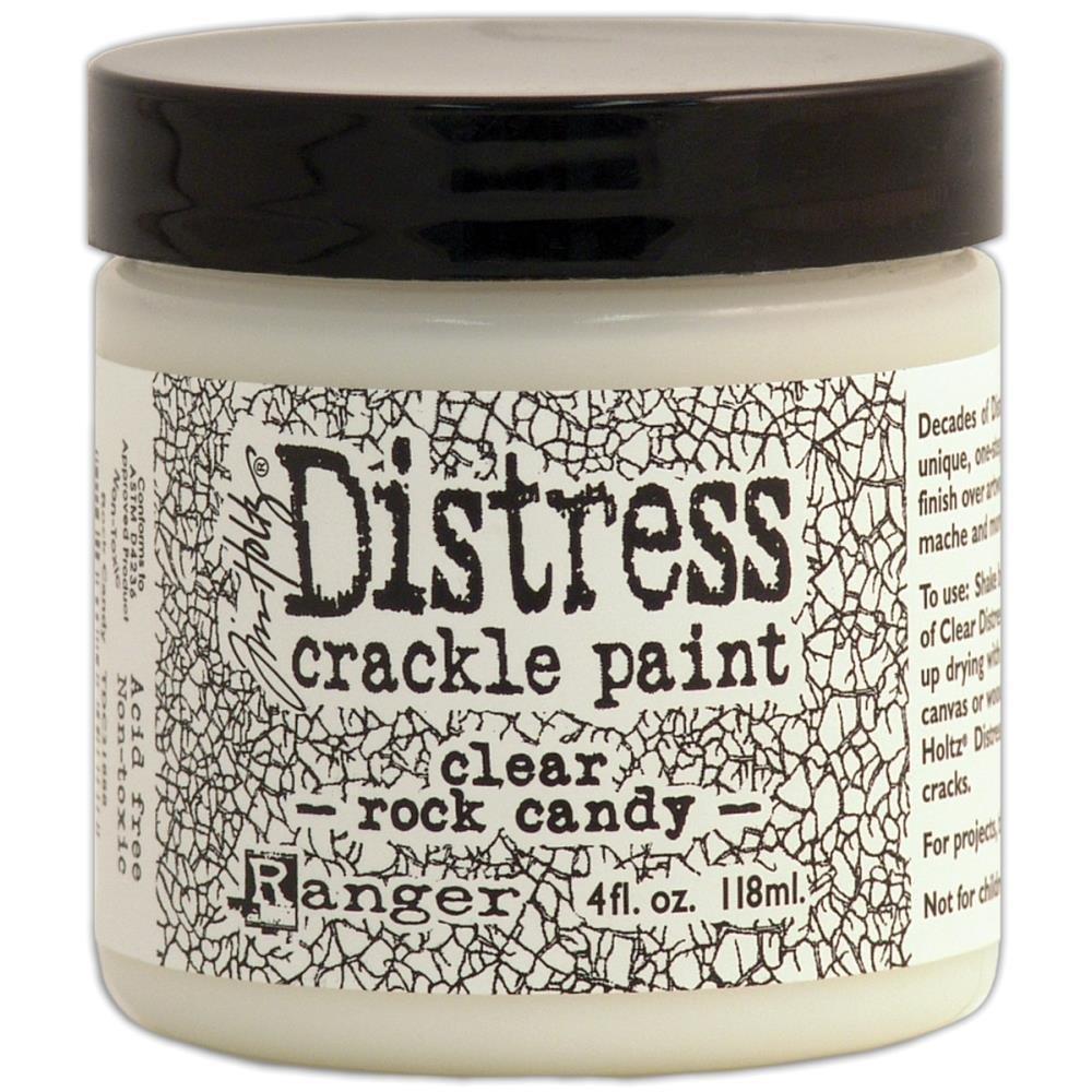 CRACKLE PAINT CLEAR ROCK CANDY