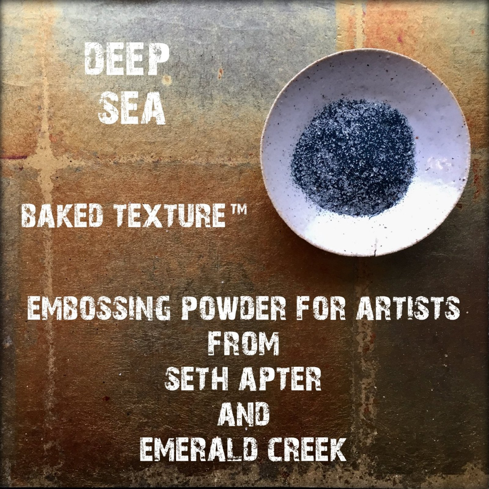 DEEP SEA 17G - BAKED TEXTURE EMBOSSING POWDER