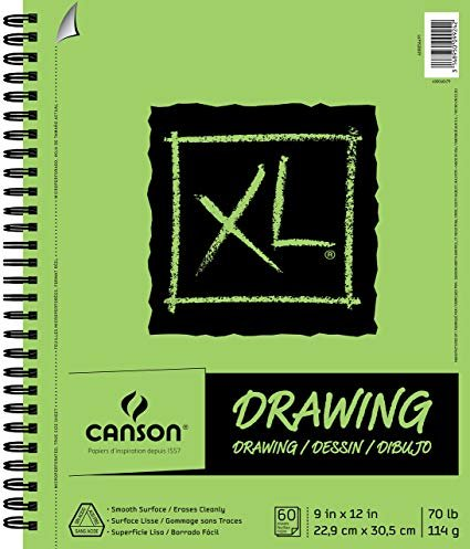 XL DRAWING PAD 9X12 - CANSON
