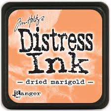 Mini Distress Pad - Dried Marigold