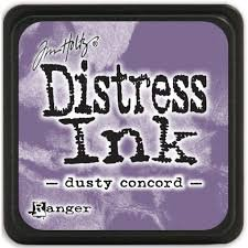 Mini Distress Pad - Dusty Concord