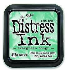 Mini Distress Pad - Evergreen Bough