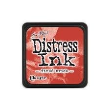 Mini Distress Pad - Fired Brick
