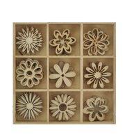 FLOWER - WOODEN FLOURISH PACK