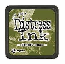 Mini Distress Pad - Forest Moss