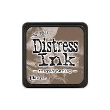 Mini Distress Pad - Frayed Burlap