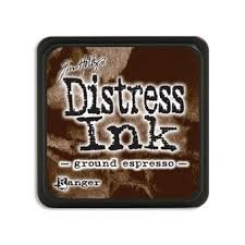 Mini Distress Pad - Ground Espresso