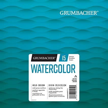 WATERCOLOR PAPER PAD 11X15 - GRUMBACHER