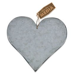 GALVANIZED STEEL HEART 7