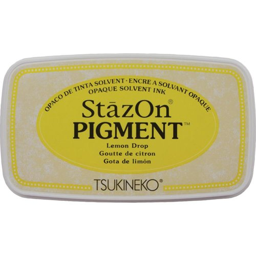 LEMON DROP - STAZON PIGMENT INK PAD