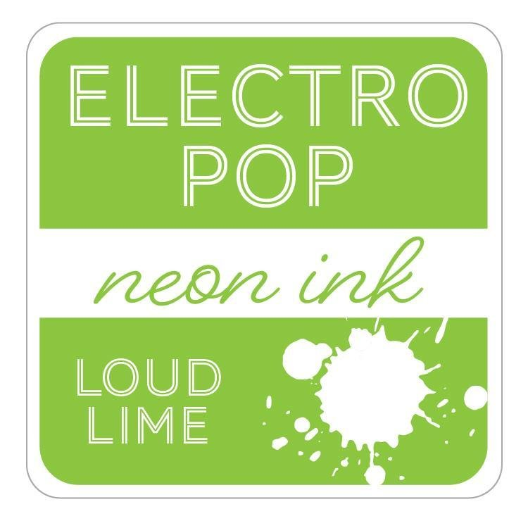LOUD LIME - GINA K. ELECTROPOP NEON INK PAD
