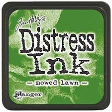 Mini Distress Pad - Mowed Lawn