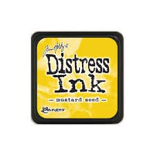 Mini Distress Pad - Mustard Seed
