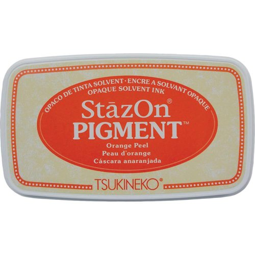 ORANGE PEEL - STAZON PIGMENT INK PAD