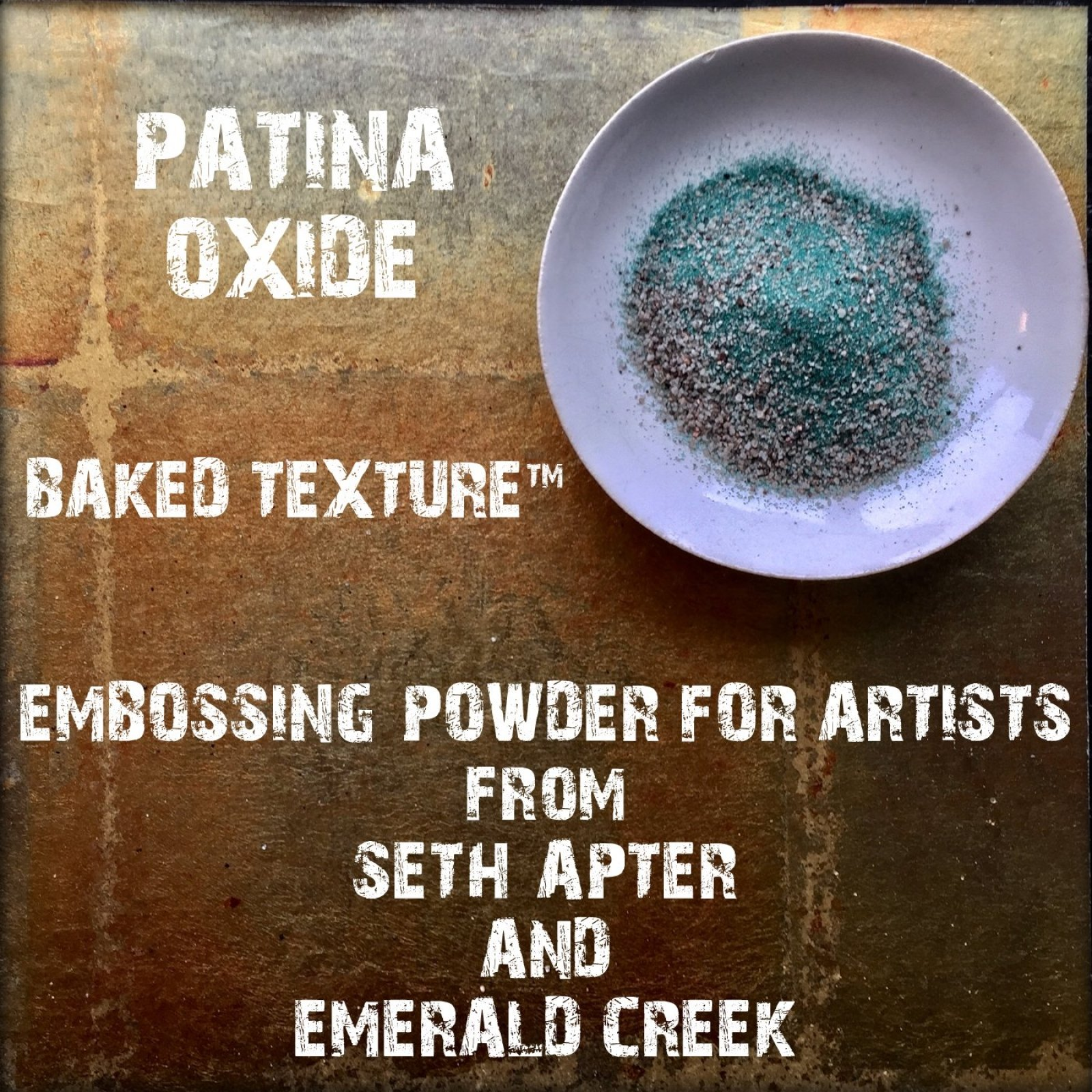 PATINA OXIDE 17G - BAKED TEXTURE EMBOSSING POWDER