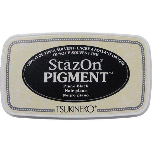 PIANO BLACK - STAZON PIGMENT INK PAD
