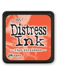 Mini Distress Pad - Ripe Persimmon