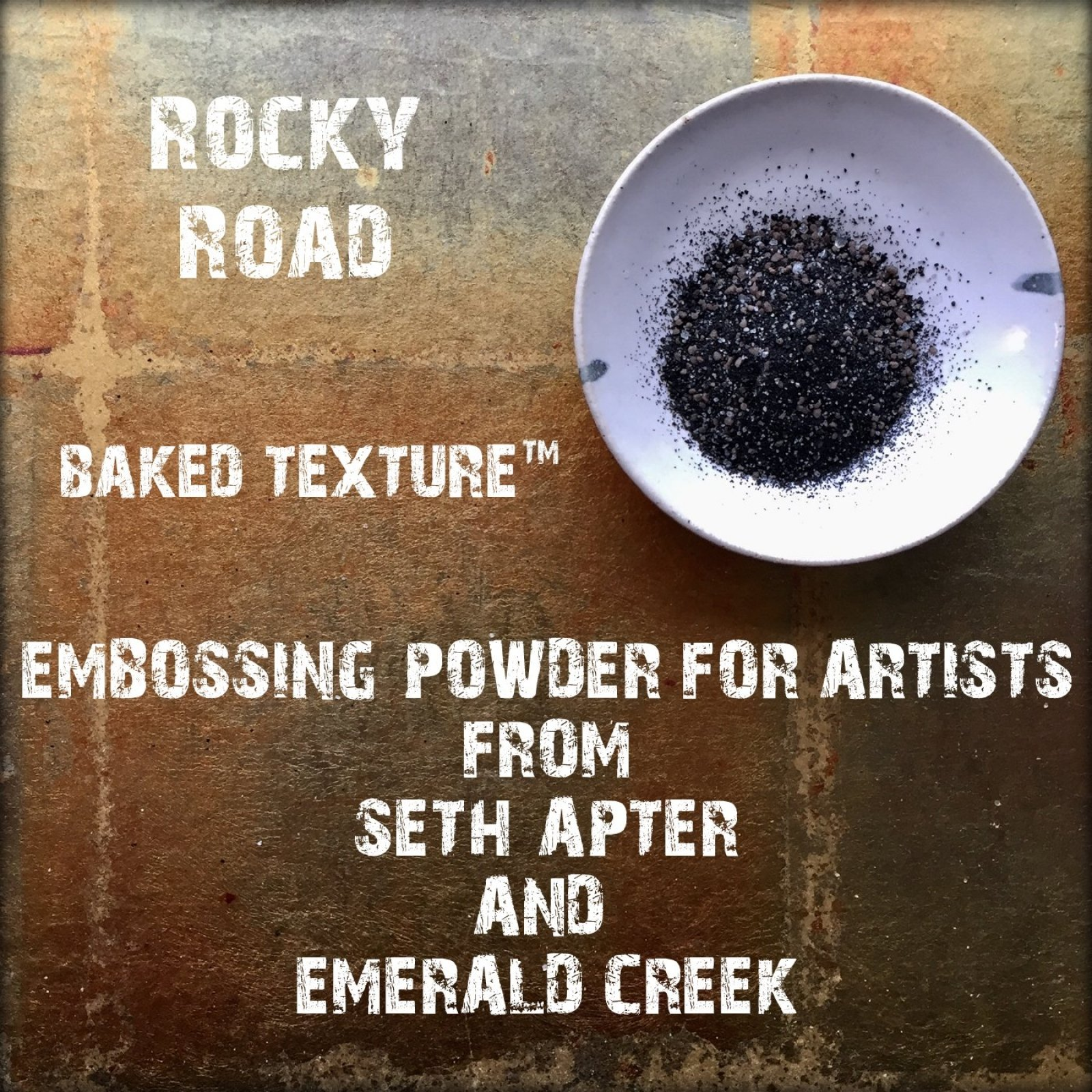 ROCKY ROAD 17G - BAKED TEXTURE EMBOSSING POWDER