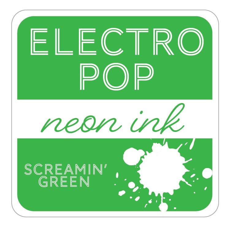 SCREAMIN' GREEN - GINA K. ELECTROPOP NEON INK PAD