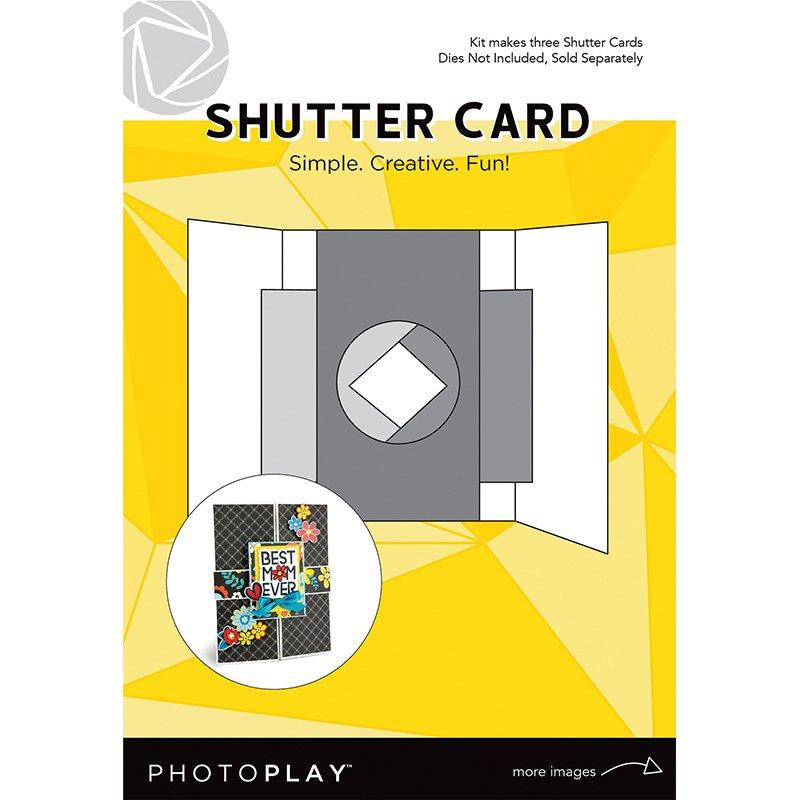 SHUTTER CARD KIT (MAKES 3 CARDS)