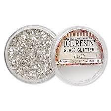 GLASS GLITTER - SILVER