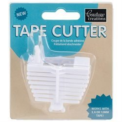 COUTURE CREATIONS TAPE CUTTER WHITE
