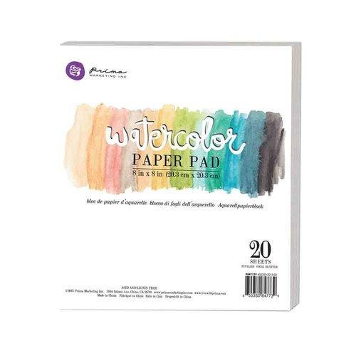 Watercolor Paper Pad 8x8