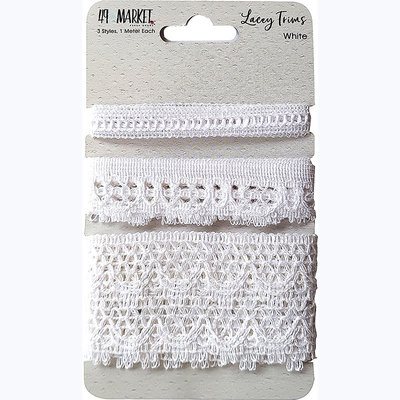 LACEY TRIMS - WHITE