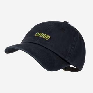 LYM NDSU Black Denim Wash Cap