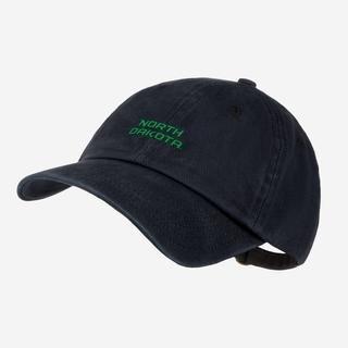 LYM UND Black Denim Wash Cap