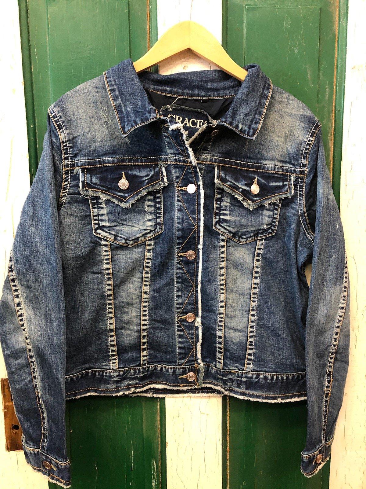 TE61252 Grace in LA Denim Jacket
