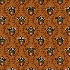 Cheddar & Chocolate -Teardrop Flower - 0730 - in brown and orange