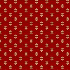 Quilting Bee in red  0801