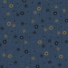 Snowfall in blue  0808
