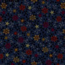 Night Blooms 1006 in blue, black, green & neutral