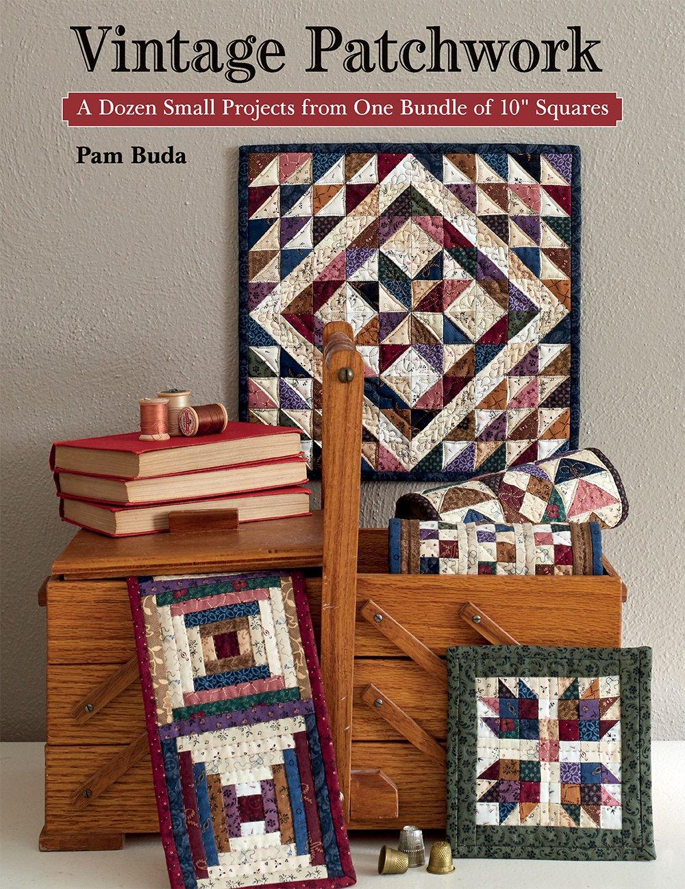 Vintage Patchwork Book & Fabric Precut