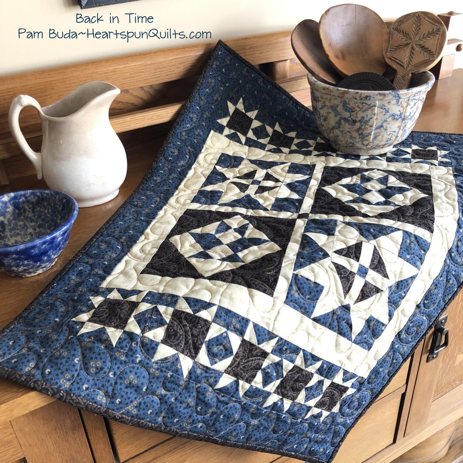 Back in Time Quilt ~ Pattern Download