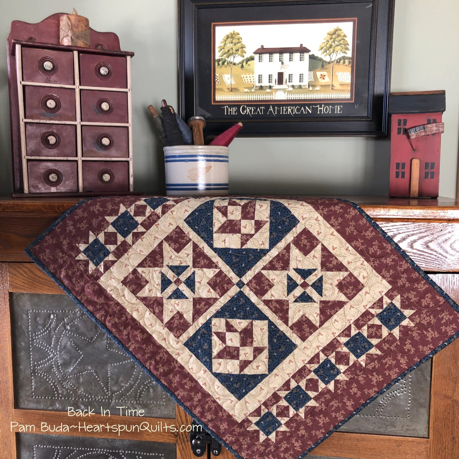 Back In Time Doll Quilt Kit